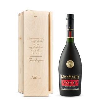 Rémy Martin cognac- In gegraveerde kist
