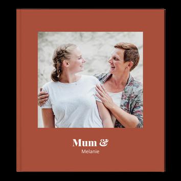 Álbum de fotos (XL) - Mamá y yo - Tapa dura