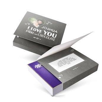 I Love Milka - darčeková krabička - Láska (220 gramov)