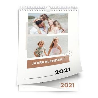Jaarkalender 2021 - A4 - staand