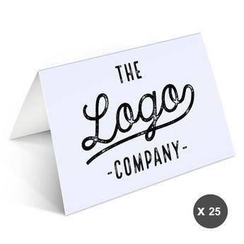 Kartki okolicznościowe z logo