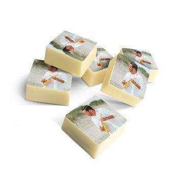 Chocolate pralines - Square - set of 60