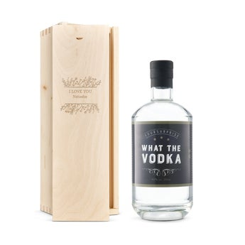 YourSurprise vodka in engraved case