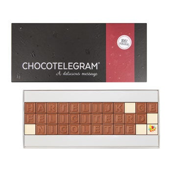 Chocotelegram - 36 letters