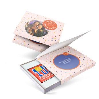Tony's Chocolonely darčekovevé balenie - Len tak! - Mliečna čokoláda