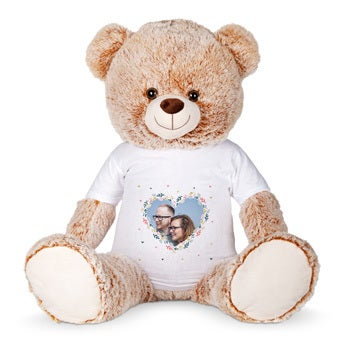 Basile l'ours - Peluche grand format