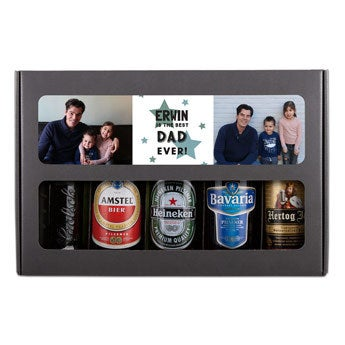 Den otců piva dárkový set - holandský