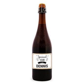 Bier met etiket - La Trappe Isid'or