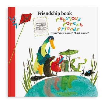 Friendship book Super friends - Hardcover