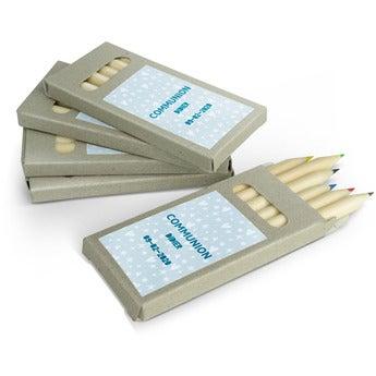 Boîtes de crayons de couleur - 80 boîtes