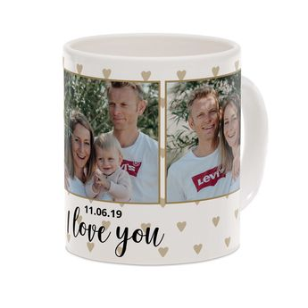 Tasse mit Foto - Valentinstag