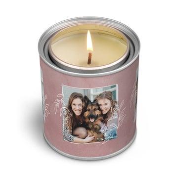 Personalizowane świece zapachowe z etykietą - 250 g