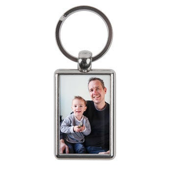 Double-sided key ring - Father's Day