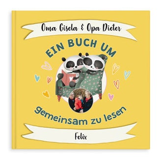 Ein Buch um zusammen... - Oma & Opa - Hardcover