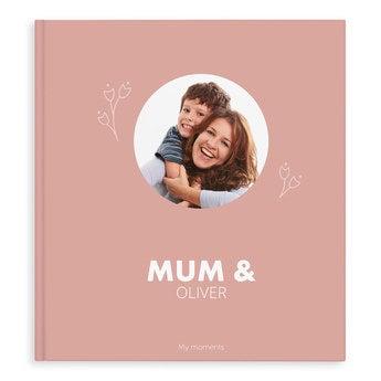 Fotobok - Mamma og jeg/oss - XL - Hardback (40)