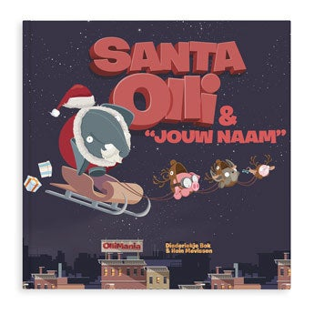 Santa Olli kerstboek (XXL)
