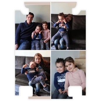 Foto reiskoffer Princess inlay - XXL