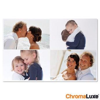 Chromaluxe Aluminium foto - Hvid - 60x40 cm