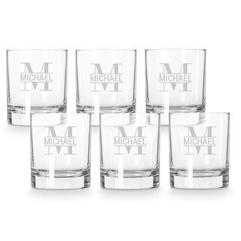 Whisky glass - 6 stk