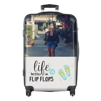 Photo suitcase Princess - XL