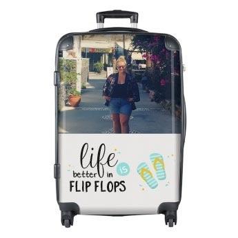 Photo suitcase Princess - XL