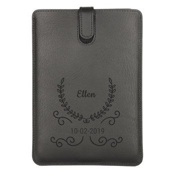iPad Air leather case - Black