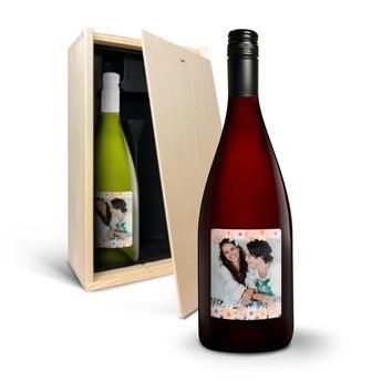 Yalumba Organic - Chardonnay and Shiraz - with label