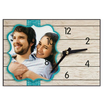 Horloge de bureau personnalisée - isorel