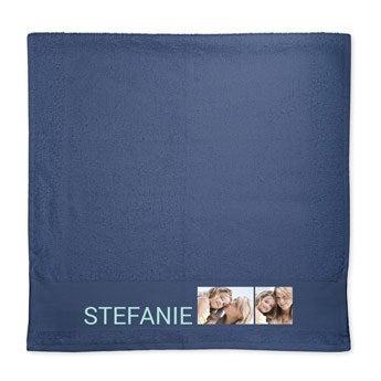 Handtuch selbst gestalten - Blau