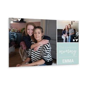 Foto su tela per la Festa della Mamma - 60x40