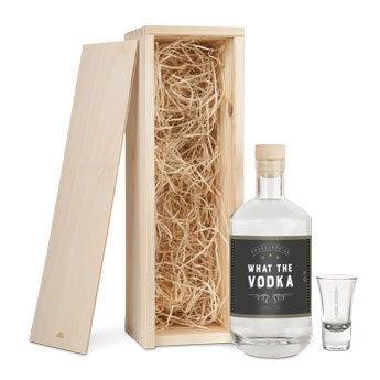 YourSurprise vodka - Darčeková súprava so sklom
