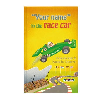 Book - Danny in the race car (Softcover)