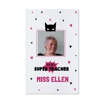 Anteckningsbok för lärare - Pocket