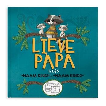 Lieve papa - boek met naam