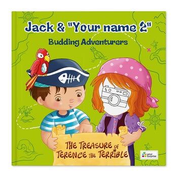 Jack & Madie - Pirates - Girls - Hardcover