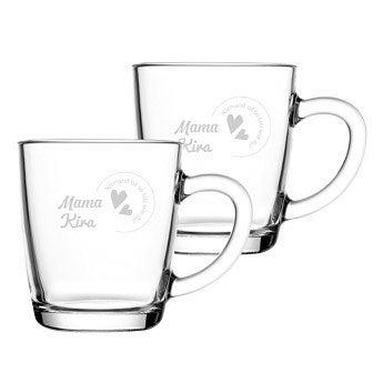 Teeglas - Muttertag