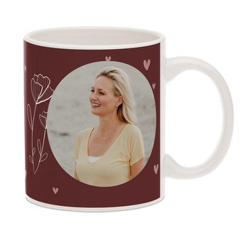 Mother's Day mug with photo
