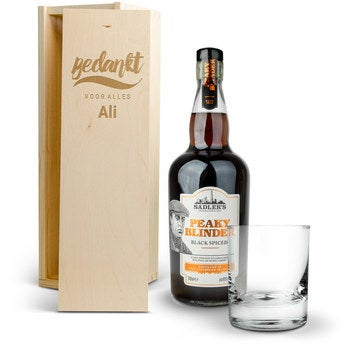 Rumpakket - Peaky Blinders (kist gravure)