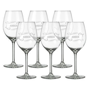 Copo de vinho branco - conjunto de 6