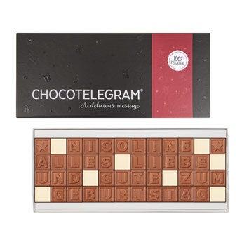 Chocotelegram - 4x12 Buchstaben