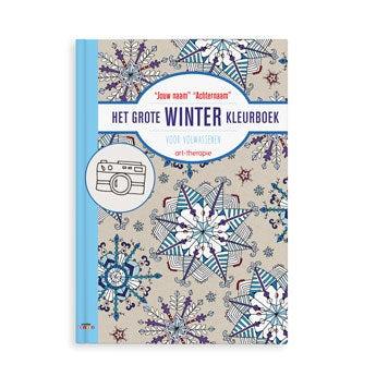 Het grote winter kleurboek
