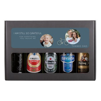 Presente do dia dos pais cerveja set - holandês
