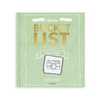 Personalisiertes Bucket List Buch für Paare