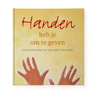 Handen heb je om te geven - Hardcover