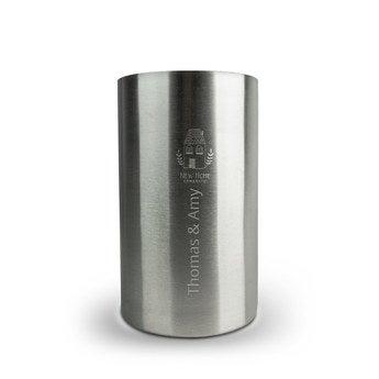 Borhűtő - rozsdamentes acél