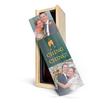 Riondo Merlot - bedruckte Kiste