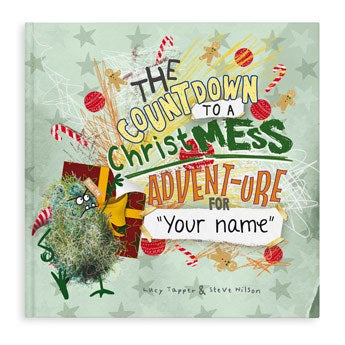 ChristMESS activity book - Hardcover