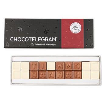 Telegramma di cioccolato - 20 caratteri