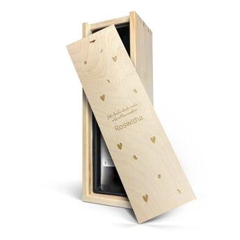 Maison de la Surprise Cabernet Sauvignon - Kiste mit Gravur