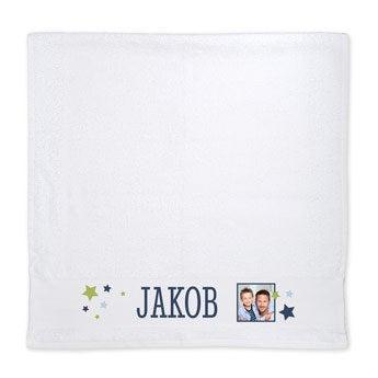 Handtuch selbst gestalten - Weiß